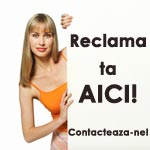 Vrei reclama? Contacteaza-ne!